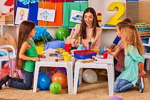 Hlídání dětí - Ilustrační foto