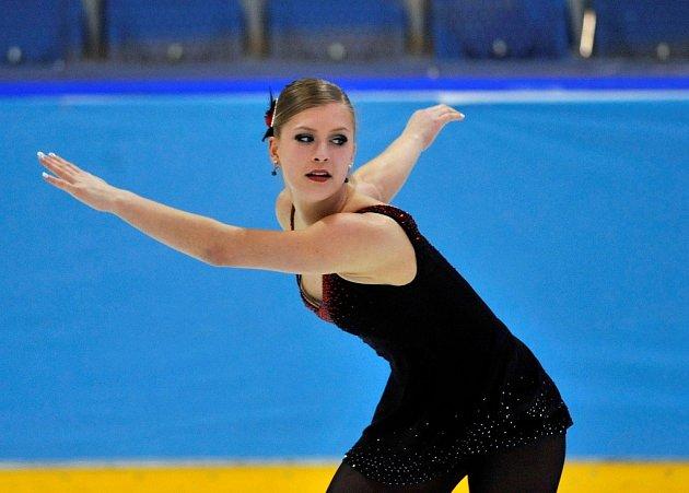 Eliška Březinová a její příprava na skok