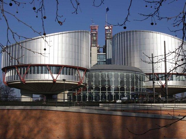 Budova Evropského soudu pro lidská práva ve francouzském Štrasburku.