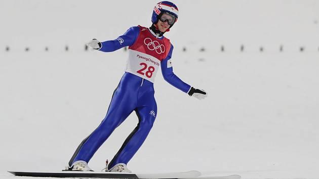 Skokan na lyžích Roman Koudelka.