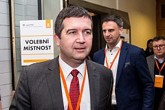 Předseda ČSSD Jan Hamáček, Jiří Zimola