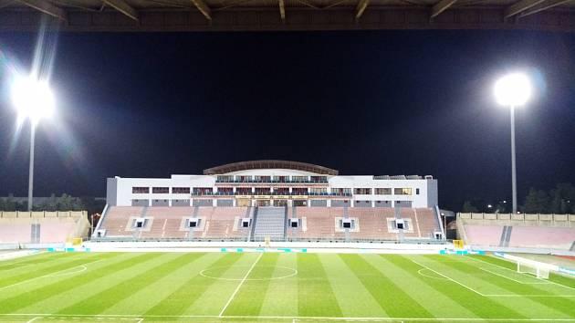 Fotbalový turnaj na Maltě: Stadion Ta'Qali