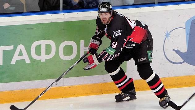 Jaromír Jágr patří k oporám ruského Omsku.