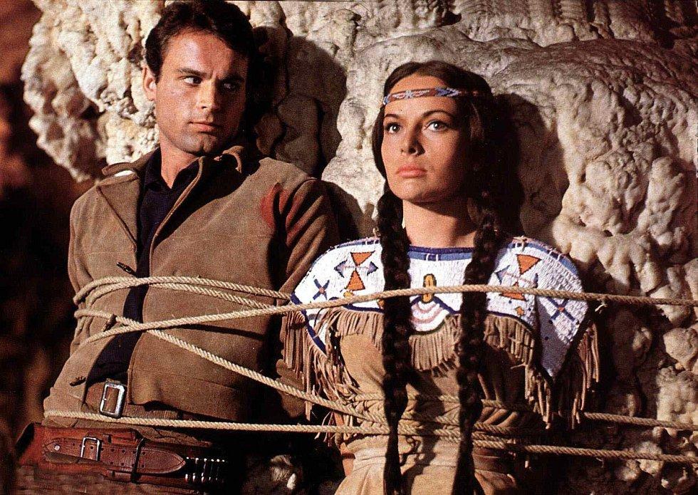 Karin Dorová ve filmu Vinnetou – Rudý gentleman