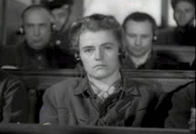 Maria Mandel u soudu