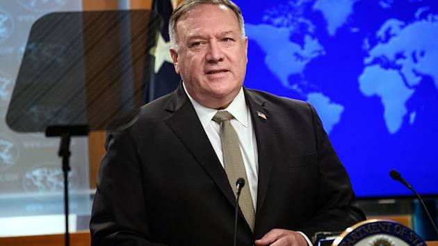 Americký ministr zahraničí Mike Pompeo.