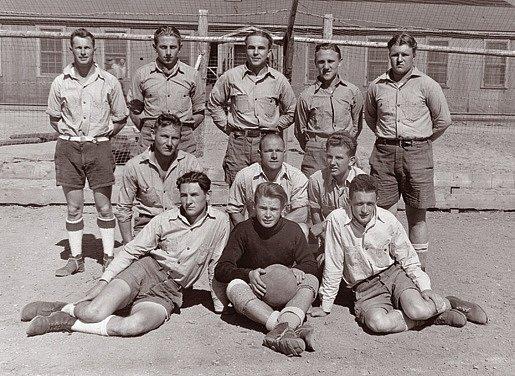Německý zajatecký fotbalový tým