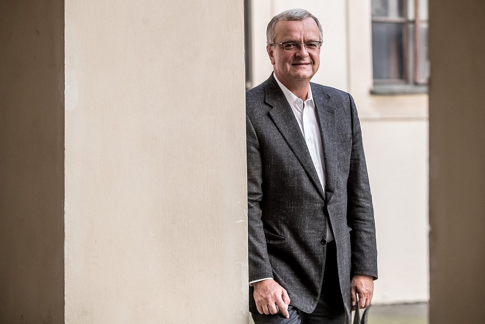 Předseda TOP 09 Miroslav Kalousek.