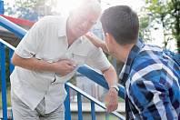 Náhlé srdeční příhody postihují muže v mnohem vyšší míře.