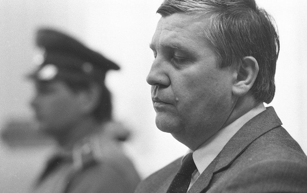 Miloš Štěpán u soudu