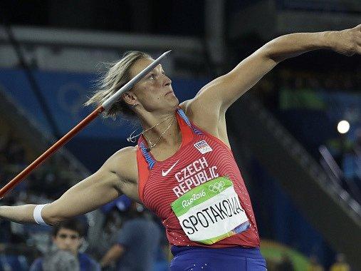 Barbora Špotáková si z Ria de Janeira odveze bronz