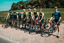 Trénink Stark Cycling Teamu.