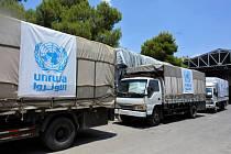 Pomoc UNRWA na Blízkém východě