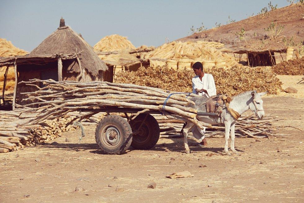 Wadi Halfa v Sudánu.