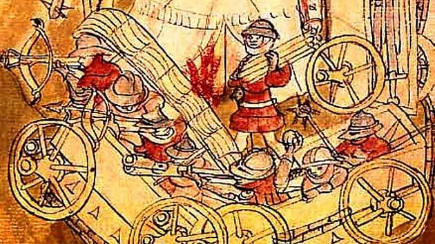V bitvě u Nekmíře před 600 lety husité poprvé využili vozovou hradbu