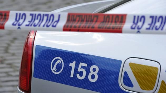 Policejní automobil. Ilustrační snímek