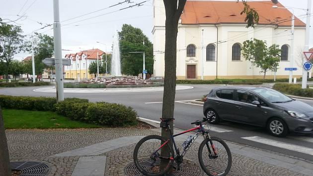 V Lázních Bohdaneč.