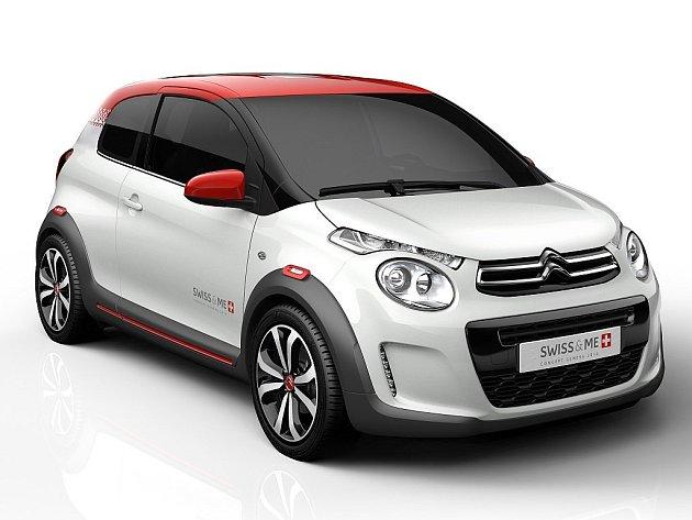 Koncept Citroën C1 Swiss & Me.