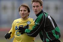 Tipsport Liga 2008: vlevo Tomáš Jun (Teplice) a Stanislav Nohýnek (Příbram).