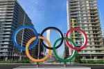 Olympijská vesnice v Tokiu.