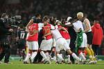 """Liga mistrů: Arsenal versus Slavia (""""Kanonýři"""" asi sami netušili, že vyhrají 7:0)"""