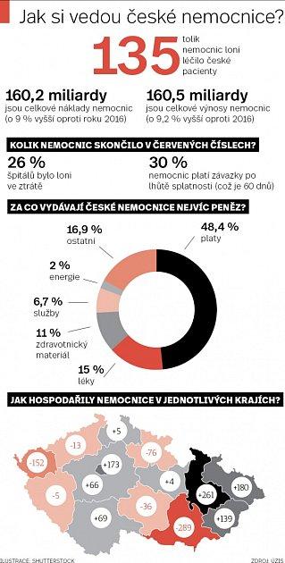 Jak si vedou české nemocnice?