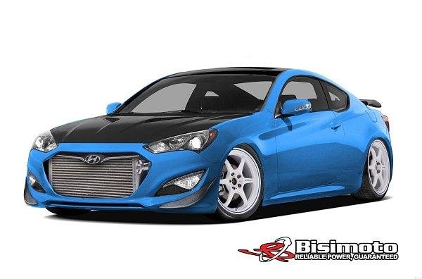 Hyundai Genesis Coupe svýkonem 1000koní.