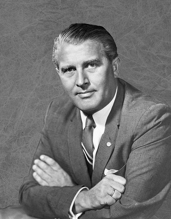 Vědec i zločinec. Tvůrce nacistických raket V-2 Wernher von Braun se stal v červenci 1960 historicky prvním ředitelem Marshallova centra vesmírných letů, jímž byl až do roku 1970