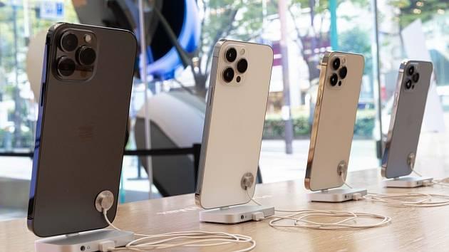 Nejnovější řada telefonů od firmy Apple - iPhone 13