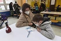 Testování žáků na ZŠ v Praze