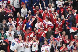 Čeští fanoušci jsou i na MS v Bratislavě jedni z nejlepších.