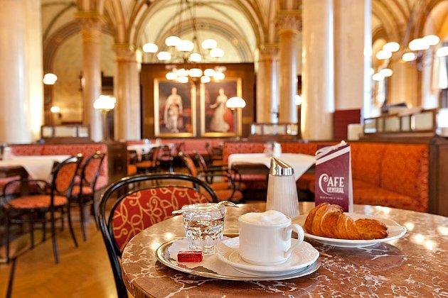 Café central ve Vídni