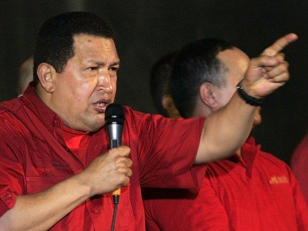 Venezuelský prezident Chávez vykazuje amerického velvyslance