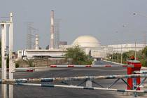 Areál jaderné elektrárny v íránském Búšehru