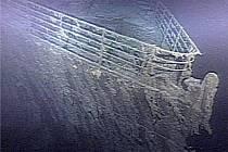 Vrak Titaniku u kanadského pobřeží St. John\'s Newfoundland