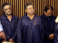Zleva Onil Castro, Pedro Castro a Ariel Castro