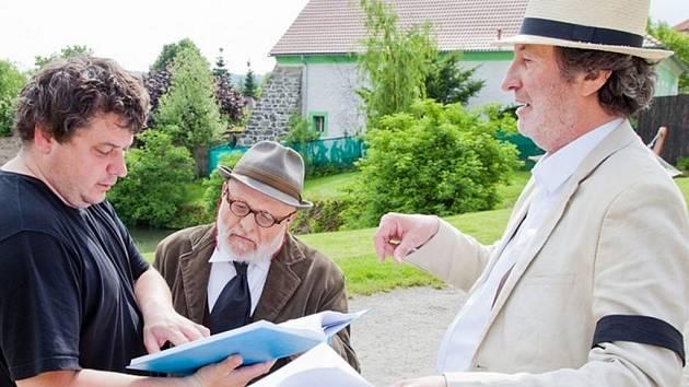 První klapka k filmu Dědictví II padla ve Skrýšově u Sedlčan