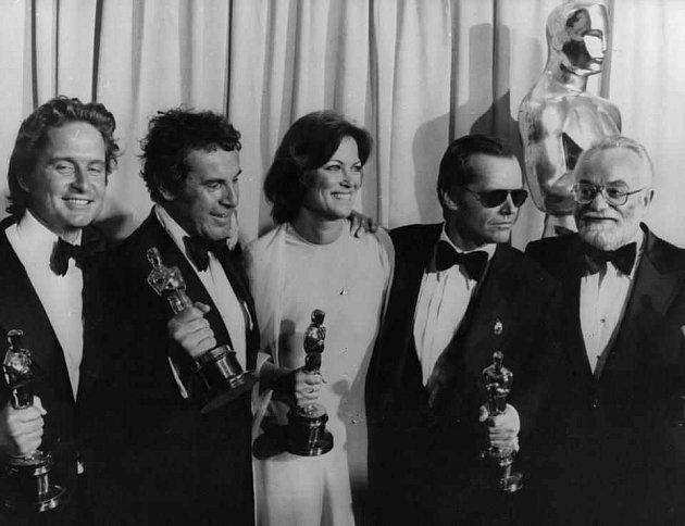 Miloš Forman na předávání cen Oscar