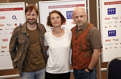 Hamlet (zleva) Plesl, Vlasáková, Čermák