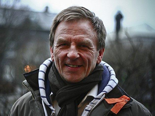 Islandský písničkář a básník Hördur Torfason.
