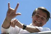 Kandidát na prezidenta Brazílue Jair Bolsonaro