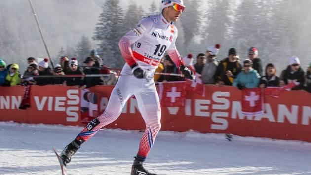 Martin Jakš na Tour de Ski