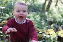 Princ Louis slaví jeden rok.