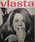 Na obálce Vlasty z ledna 1969