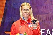 Nikola Ogrodníková se dočkala stříbrné medaile