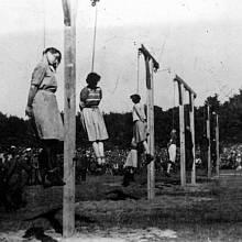 Nacistické dozorkyně, které skončily na šibenici