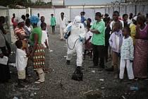 Afriku trápí epidemie eboly