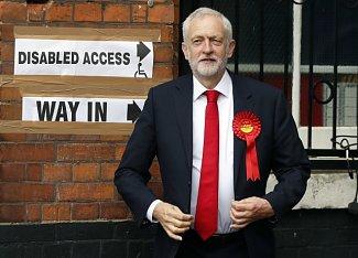 Šéf labouristů Jeremy Corbyn.