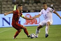 Čeští fotbalisté nastoupili v kvalifikaci mistrovství světa v Belgii.