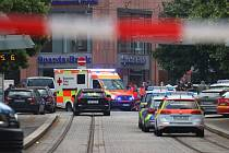 Útok nožem ve Würzburgu